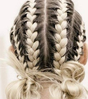 hairstyle, hair and braids