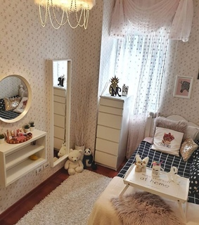 pink, room and Chambre