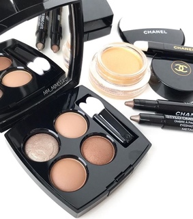 beauty, palette and chanel