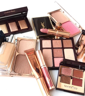 YSL, cosmetics and make up