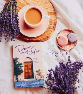 book, coffee and ?macarons
