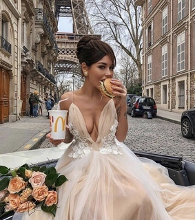 dress, delicious and hair