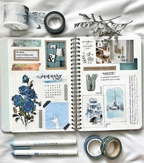 bullet journal and bujo