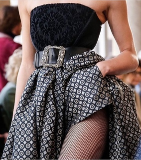 details, fashion and runway