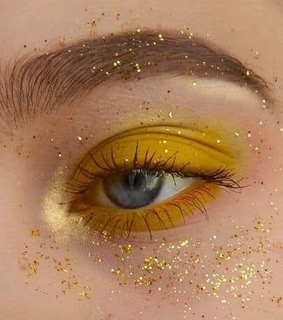makeup, gold and beauty