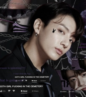 cyber, edgy and jungkook