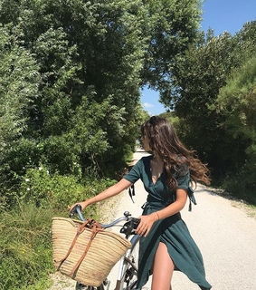 summer, fashion and bikes