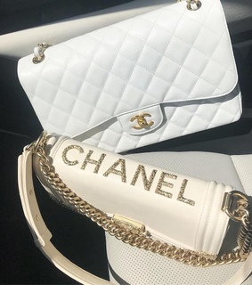 luxury, chanel and bags