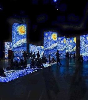 starry night, aesthetic and van gogh