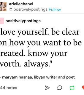 quote, love and self