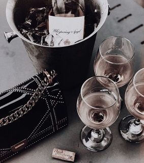 drink, champagne and accessories