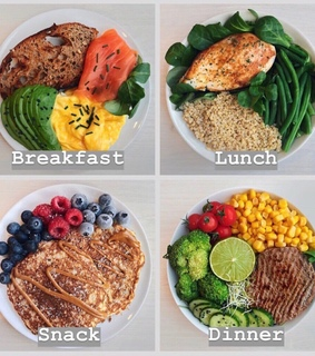 healthy food, food and lunch