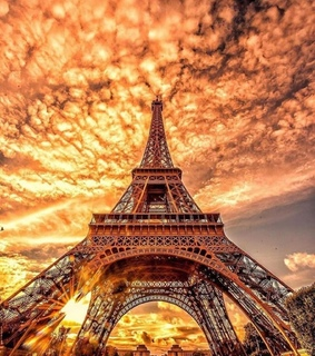 french, torre eiffel and beauty