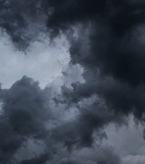 sky, storm and clouds