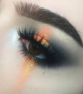 makeup and eyes