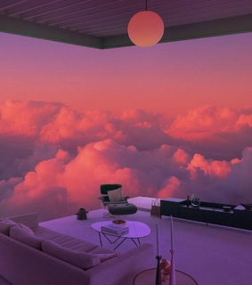 red, cloud and luxury