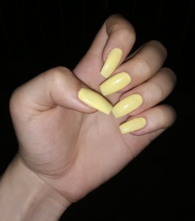 yellow, fakenails and paint