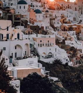 summer, lifestyle and santorini