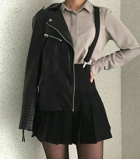 outfits, black and girl