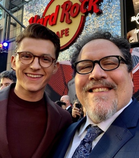 tom holland, peter parker and happy hogan