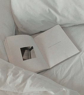 book, white and soft