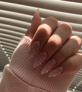 style, girly and nails