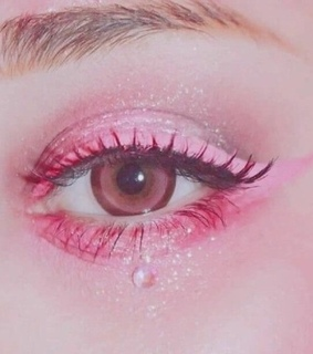 pink, eye makeup and makeup