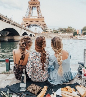 travel, vacation and paris