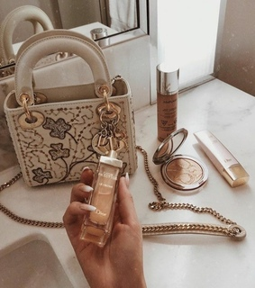 beige, cosmetics and gold