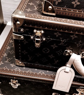 Louis Vuitton, luggage and luxury