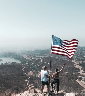 america, adventure and flag