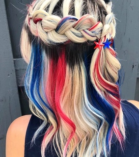 hairstyle, hair and independence day