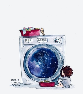 washing machine, cute and adoreble