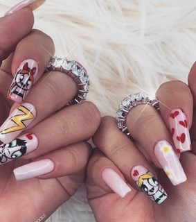 fashion, nails goals and girly style