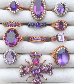 fashion, accessories and purple