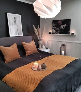 interior design, bed room and house