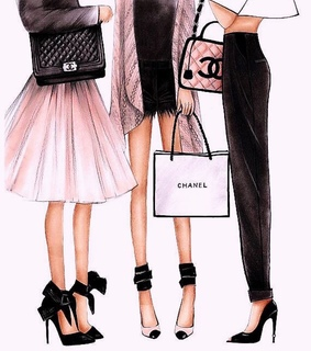 fashion, pinky and chanel