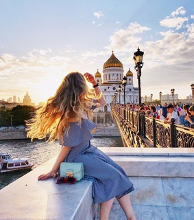 moscow, voyage and blue sky