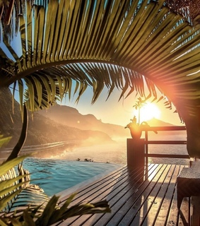 travel, paradise and relax