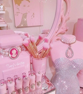 tumblr, glamour and pink