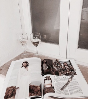 coffee, reading and style