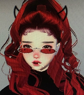 imvu, red and 3d