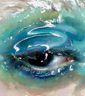 eyes, paintings and art