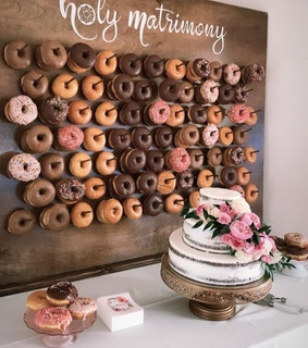 desserts, donuts and wedding food