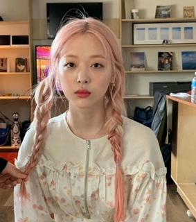 soft pink, asian girl and pink pastel hair