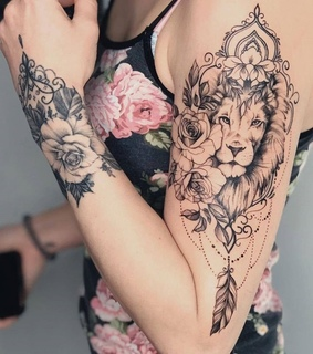 ink, flowers and pink