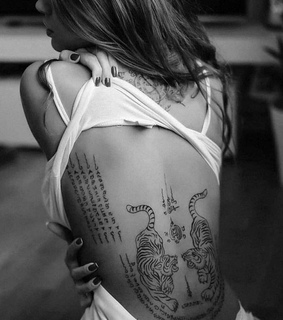 art, body and tattoo