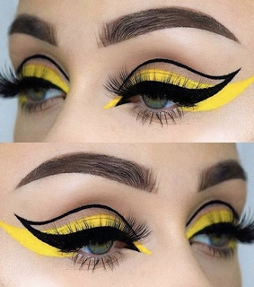 cool, awesome and eye liner