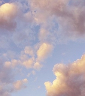 pastel, cielo and clouds