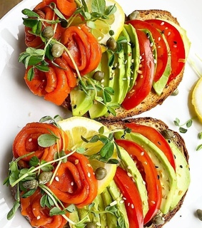 food, light and healthy